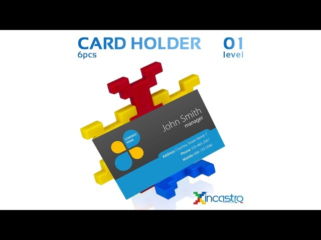 INCASTRO | Level 1 | Card Holder