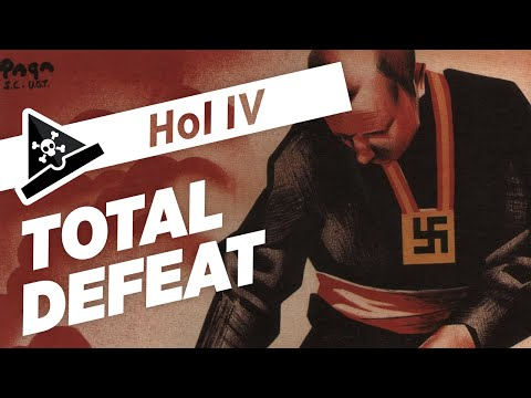 TOTAL DEFEAT - ep 3 - Let's Play Hearts of Iron IV - Gamepla