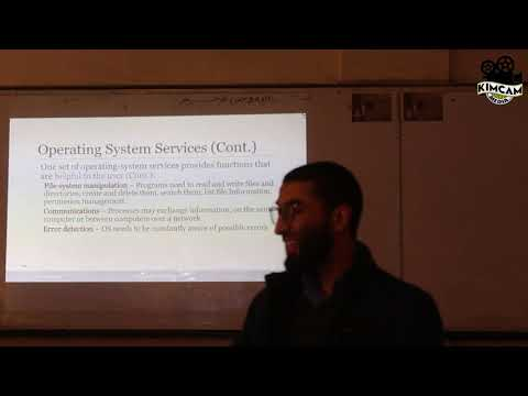 Ch 2. Operating systems structure Part 1