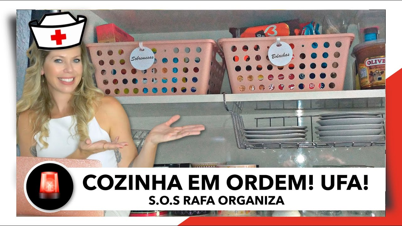 COZINHA ORGANIZADA: RESULTADO FINAL - SOS RAFA ORGANIZA | OSF - Rafa Oliveira