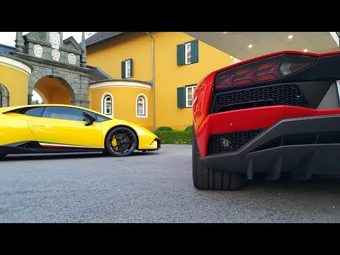 NEW LAMBORGHINI HURACAN PERFORMANTE VS. AVENTADOR S