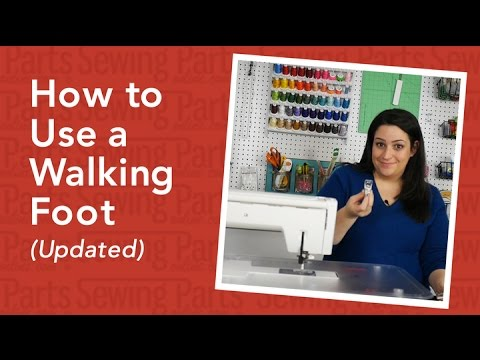 How to Use a Walking Foot (Updated)