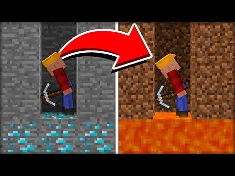 ЗАМЕНИЛ ТЕКСТУРЫ МАЙНКРАФТА И ЗАТРОЛЛИЛ ЖИТЕЛЯ в МАЙНКРАФТ 100% троллинг ловушка Minecraft