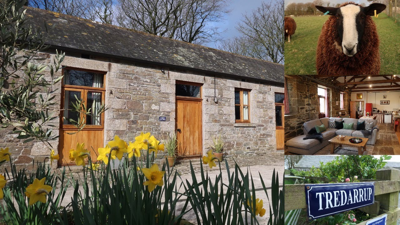 Visit Cornwall and stay near Port Isaac at Tredarrup Farm Holiday Cottages: STAY IN CORNWALL