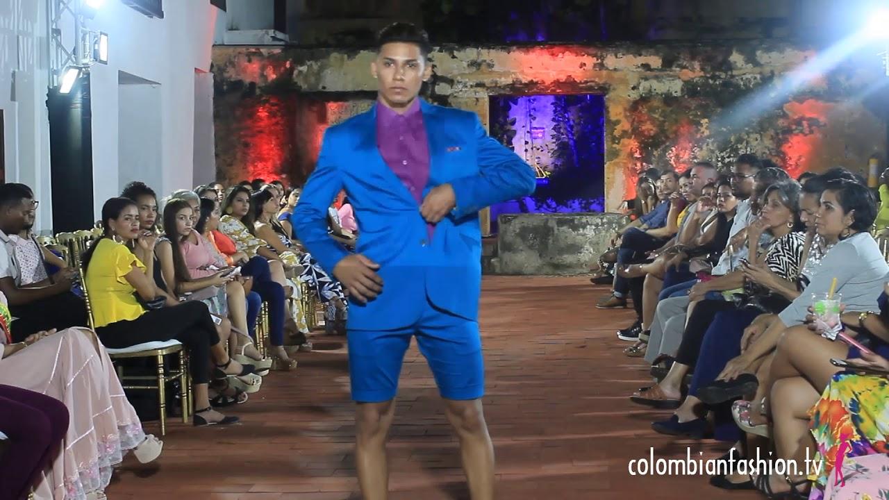 Pasarela John Frank Alza en el marco de Cartagena Caribbean Trends