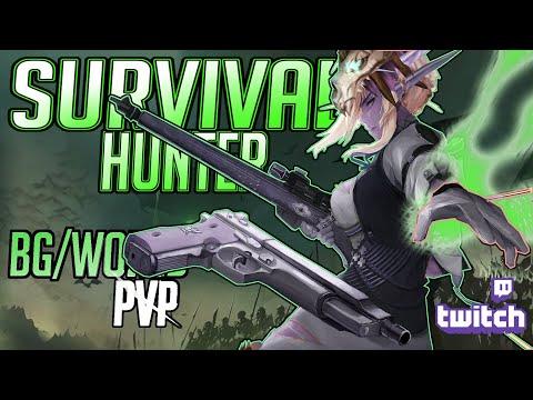 SHOOT AND SCOOT |  Necro Survival Hunter  | 9.0 Battlegrounds/World PVP
