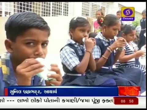 Doodh Sanjeevani Yojana in Arvalli | Health and Hygiene | Ground Report Gujarati