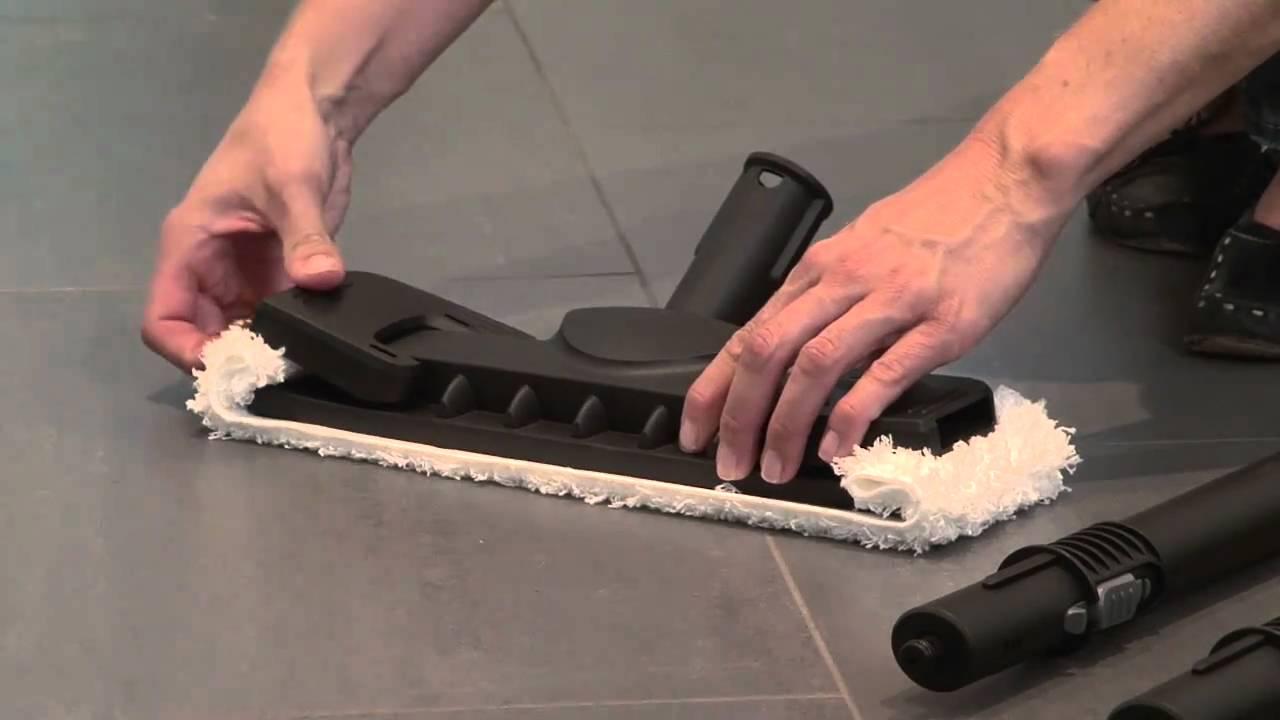 Kärcher stoomreiniger maakt de badkamer met minder moeite grondiger ...