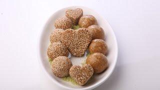 Sesame Seed And Peanut Laddu