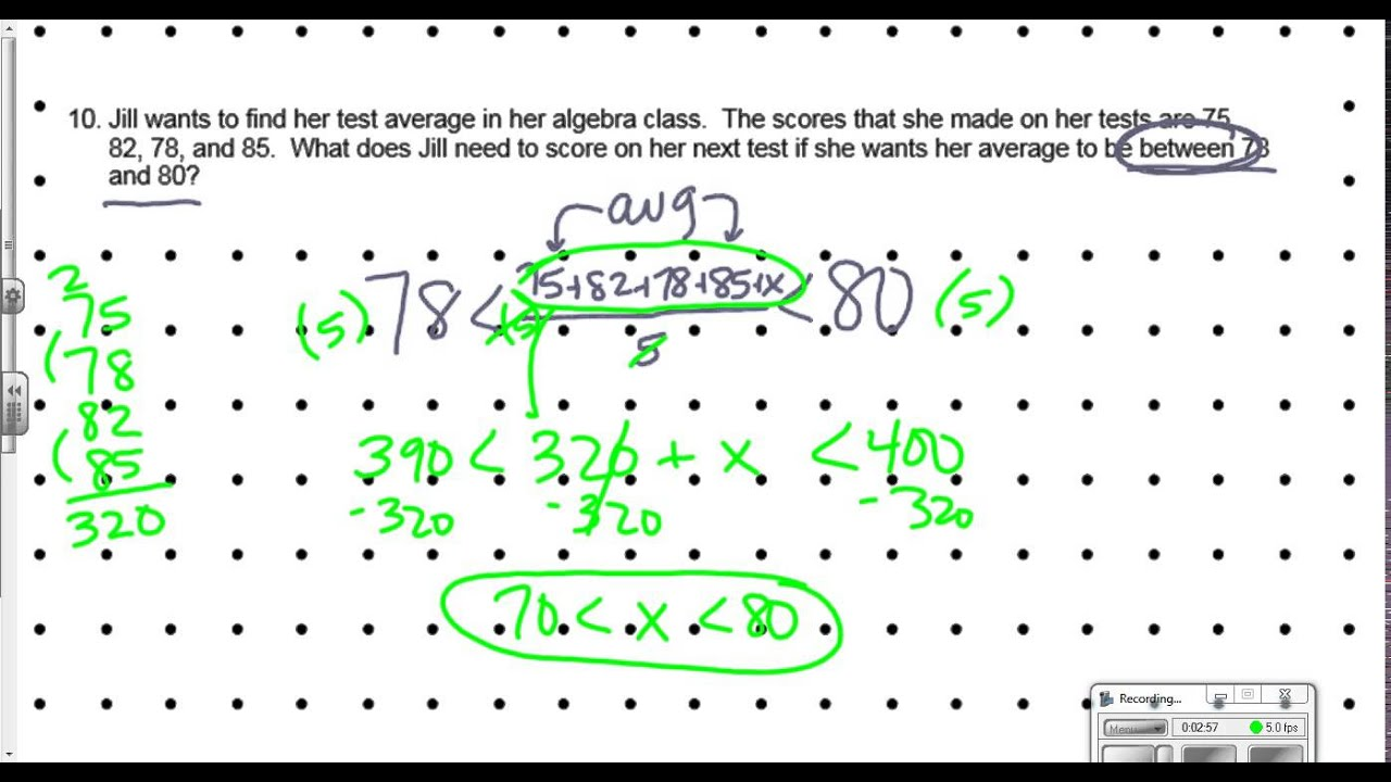 Compound Inequalities in Word Problems YouTube – Compound Inequality Word Problems Worksheet