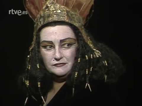 Händel - Giulio Cesare Acto II + Entrevista Con Montserrat Caballé & Justino Díaz 1982 - YouTube