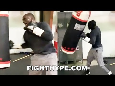 "(WOW!) TERENCE CRAWFORD UNLEASHES SAVAGE FLURRY OF PUNCHES; SHOWS HOOKER HOW TO ""CUT THE TREE DOWN"""