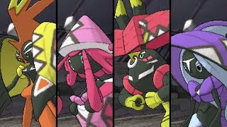 Pokemon Ultra Sun and Ultra Moon: VS All Tapu Legendaries - Battles and Locations