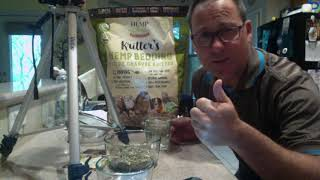 Hemp Sense Hemp Crumble -1 Min. Absorption Test 1 cup water/ 1cup Crumble