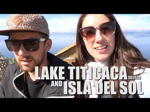 Lake Titicaca, Bolivia | Our first day on Peru Hop! | South America Travel Vlog E28