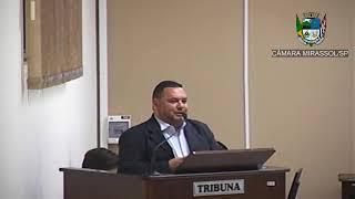 10ª Sessão Ordinária - Vereador Walmir Chaveiro