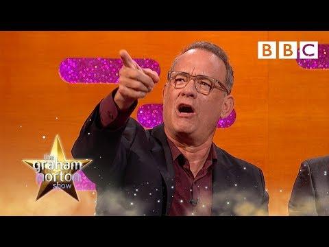 Spotting Tom Hanks on the freeway | The Graham Norton Show - BBC