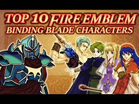 Top 10 Favourite Fire Emblem: Binding Blade Characters