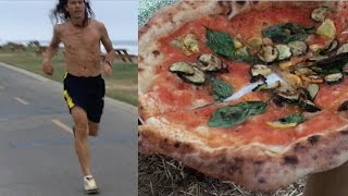 How I Train & Eat In A Day: Vegan Pizza Party FTW!