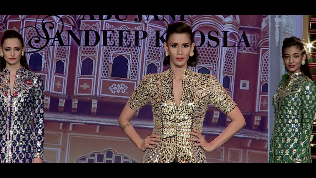 Abu Jani Sandeep Khosla S Fashion Film The Golden Door Youtube