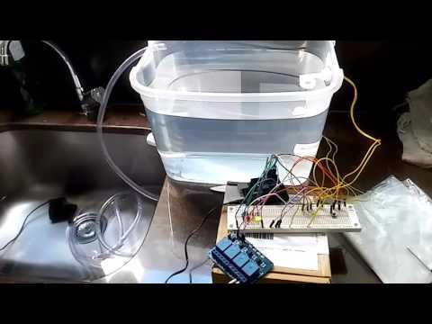 Controle De Bomba E Sensores De Nível Com Arduino