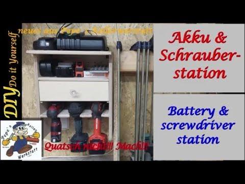 Akku & Schrauberstation