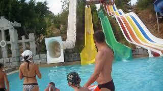 Турция 2017# мы в аквапарке