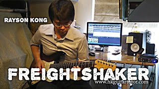 rockschool guitar grade 8 freightshaker by rayson kong