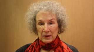 Margaret Atwood discusses MADDADDAM.
