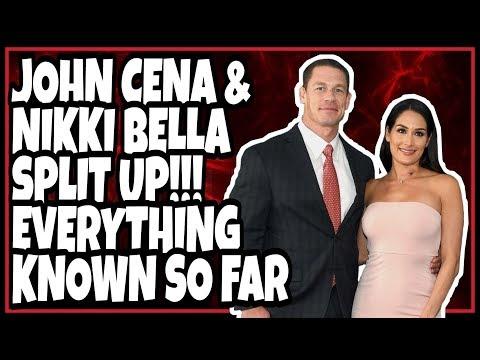 UPDATE: JOHN CENA & NIKKI BELLA SPLIT / BREAK UP - EVERYTHING Known So Far!!! Most Shocking 2018