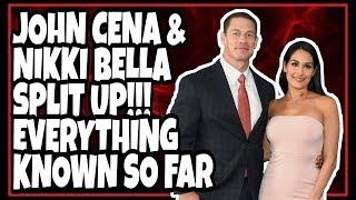 LATEST: JOHN CENA & NIKKI BELLA SPLIT / BREAK UP - EVERYTHING Known So Far!!! Most Shocking 2018