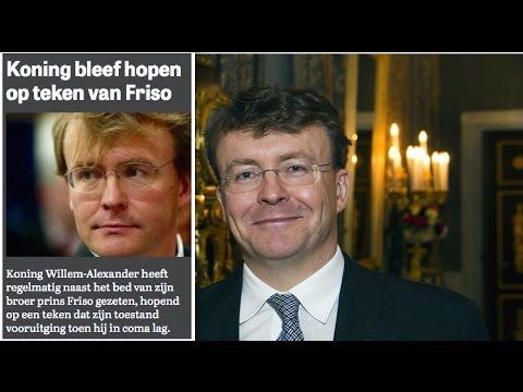 Prins Johan Friso overleden - Koning bleef hopen op teken van Friso