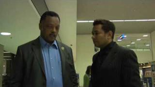 Raffles van Exel Speaks with Rev. Jesse Jackson