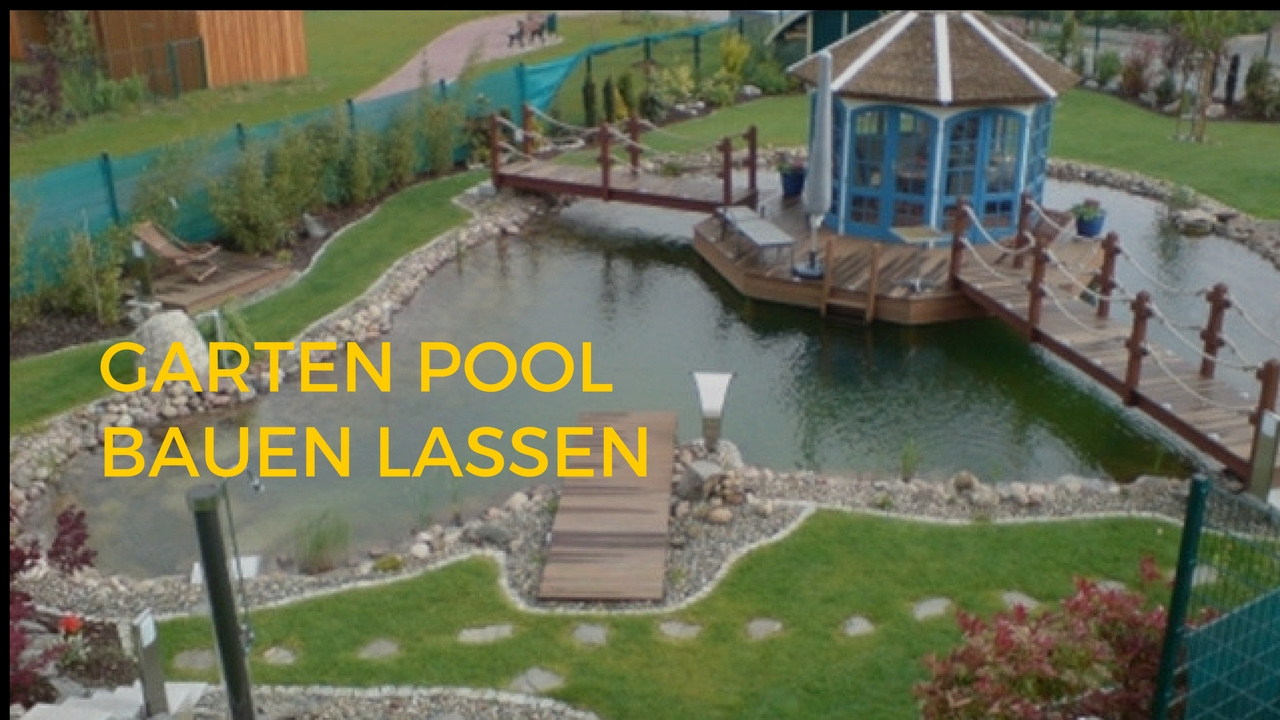 garten pool bauen lassen youtube. Black Bedroom Furniture Sets. Home Design Ideas