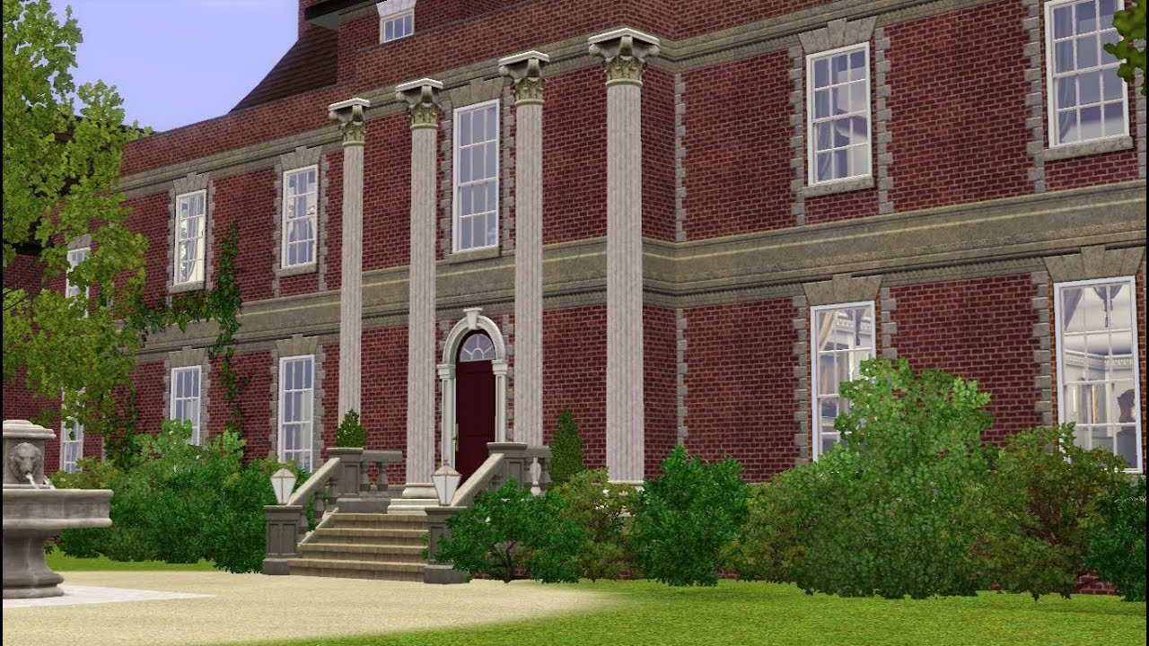 the sims 3 the dower house downton abbey youtube. Black Bedroom Furniture Sets. Home Design Ideas