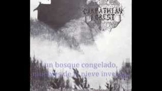 Carpathian Forest - The last sigh of Nostalgia (sub español)