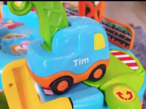 Garage Toet Toet : V tech toet toet auto s en garage v tech toettoet cars and