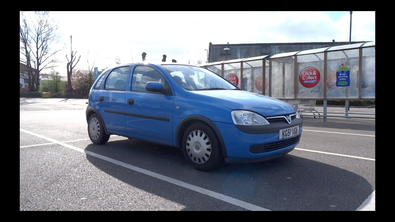 2001 vauxhall corsa comfort 5 door start up and full vehicle tour youtube. Black Bedroom Furniture Sets. Home Design Ideas