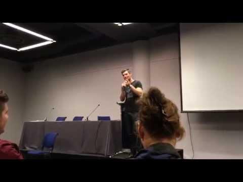 Liam McIntyre Q&A @F.A.C.T.S.  You can watch it in HD!!
