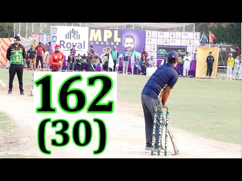 BIG Record 162 Runs In Just 30 Balls Best Innings In Cricket History Ever