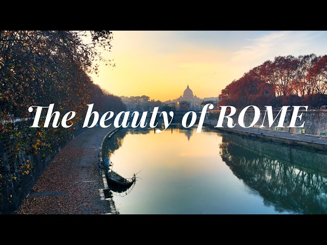 The beauty of Rome in 2 minutes