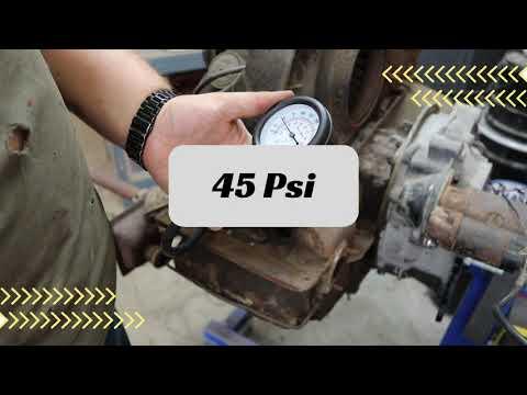 First compression test 1200cc bug engine