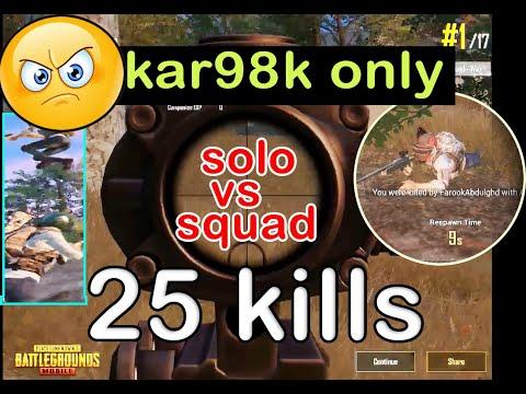 solo-vs-squad-kar98k-25-only-|-pubg-mobile|-war-solo-vs-squad