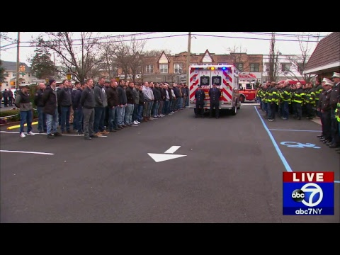 FDNY procession honors firefighter Steven Pollard