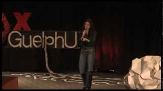 Behind the Scenes of the Vote Mob: Gracen Johnson at TEDxGuelphU