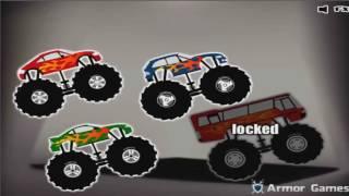 Игры гонка на машине с БОЛЬШИМИ КОЛЕСАМИ  Гонки мультики  Игры машинки