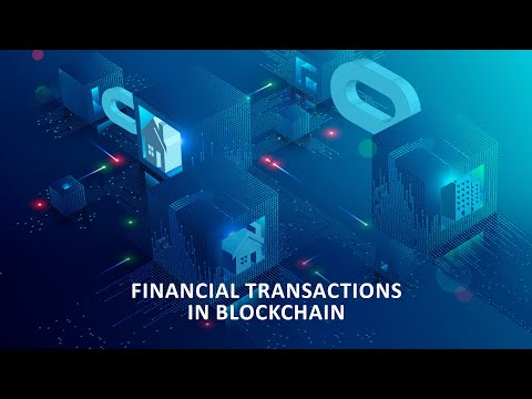 Financial Transactions In Blockchain