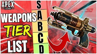 An APEX PREDATORS Season 5 WEAPONS TIER LIST! - Apex Legends Season 5