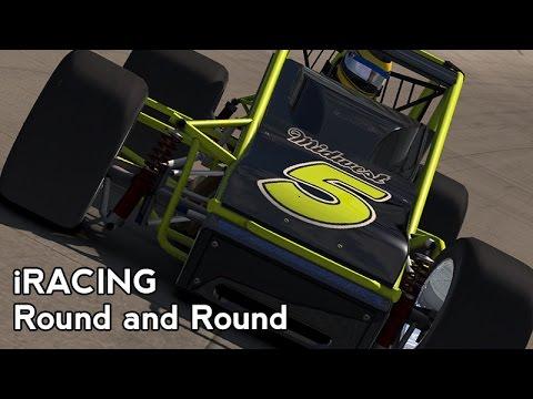 iRacing : Round and Round (Sprint Cars @ Bristol)