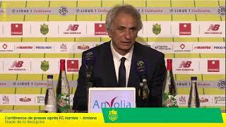 LIVE  - FC Nantes  Amiens SC (3-2) | Conférence de presse d'après-match